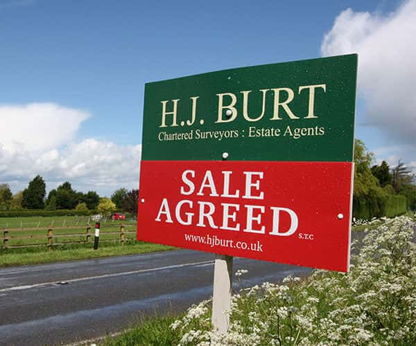 Residential property sales from HJ Burt Estate Agents