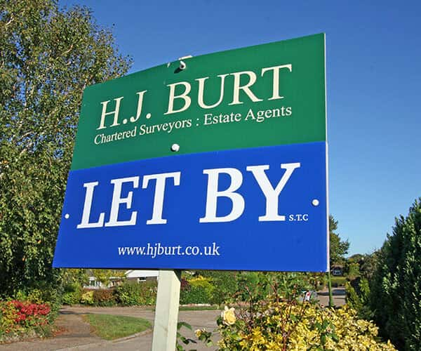 Residential lettings from HJ Burt Estate Agents