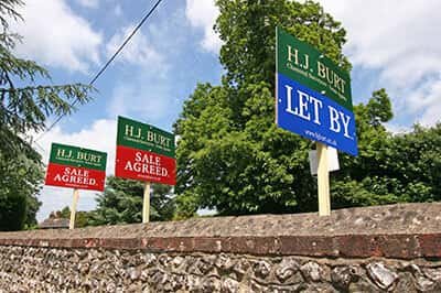 Request a property valuation from HJ Burt Estate Agents in Steyning and Henfield